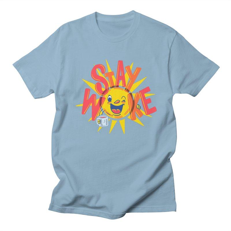 Stay Woke Women's Regular Unisex T-Shirt by Ibyes