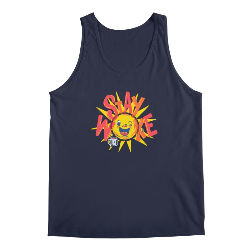 Stay Woke Men's Regular Tank by Ibyes
