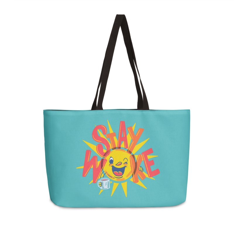 Stay Woke Accessories Weekender Bag Bag by Ibyes