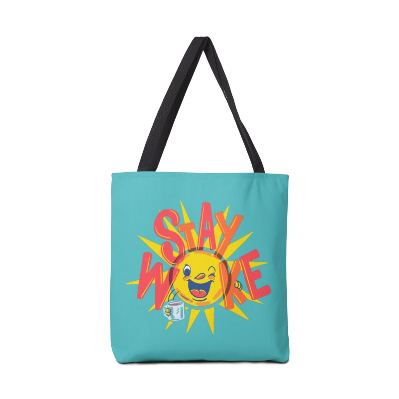 Stay Woke Accessories Tote Bag Bag by Ibyes