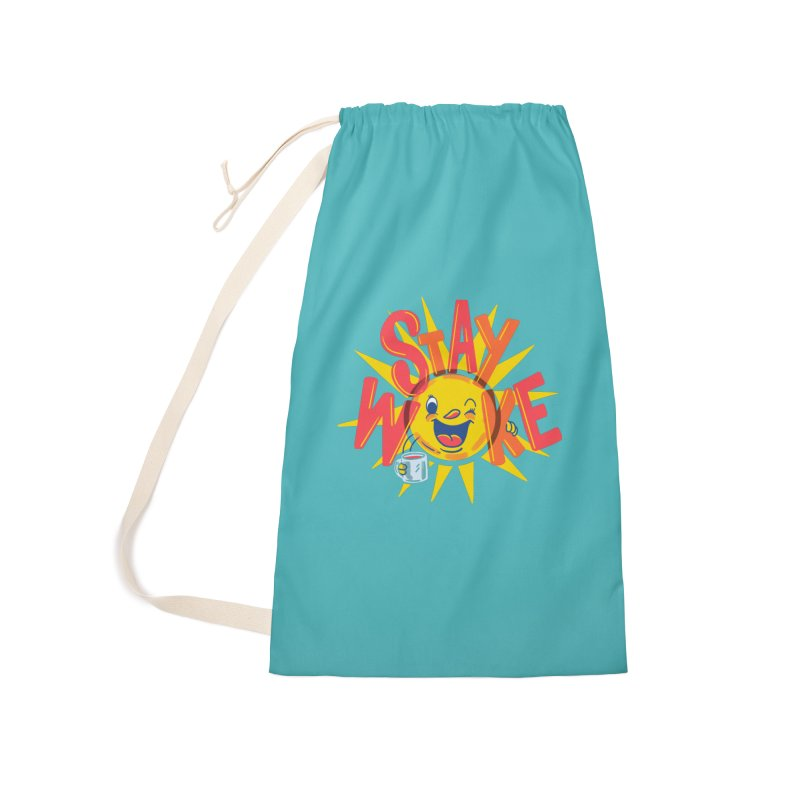 Stay Woke Accessories Laundry Bag Bag by Ibyes
