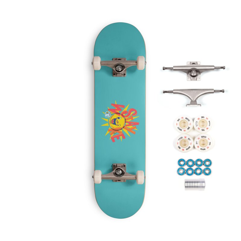 Stay Woke Accessories Complete - Premium Skateboard by Ibyes