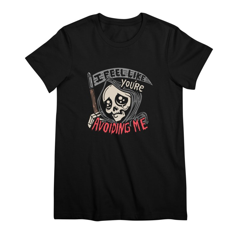 Grim Weeper Women's Premium T-Shirt by Ibyes