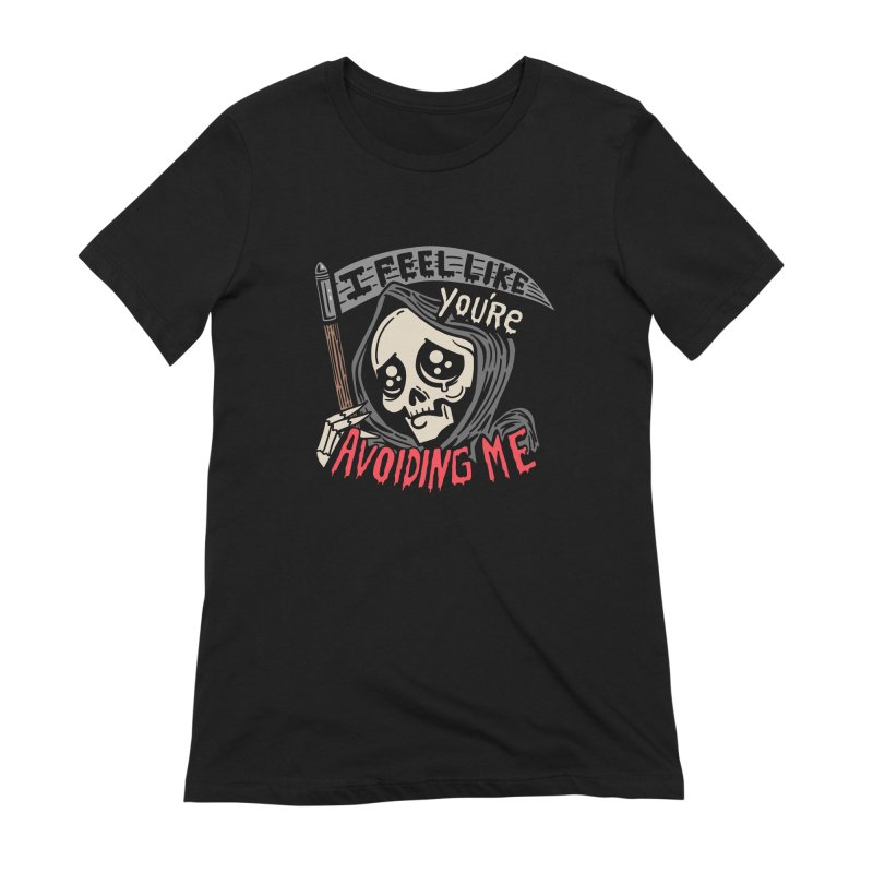 Grim Weeper Women's Extra Soft T-Shirt by Ibyes
