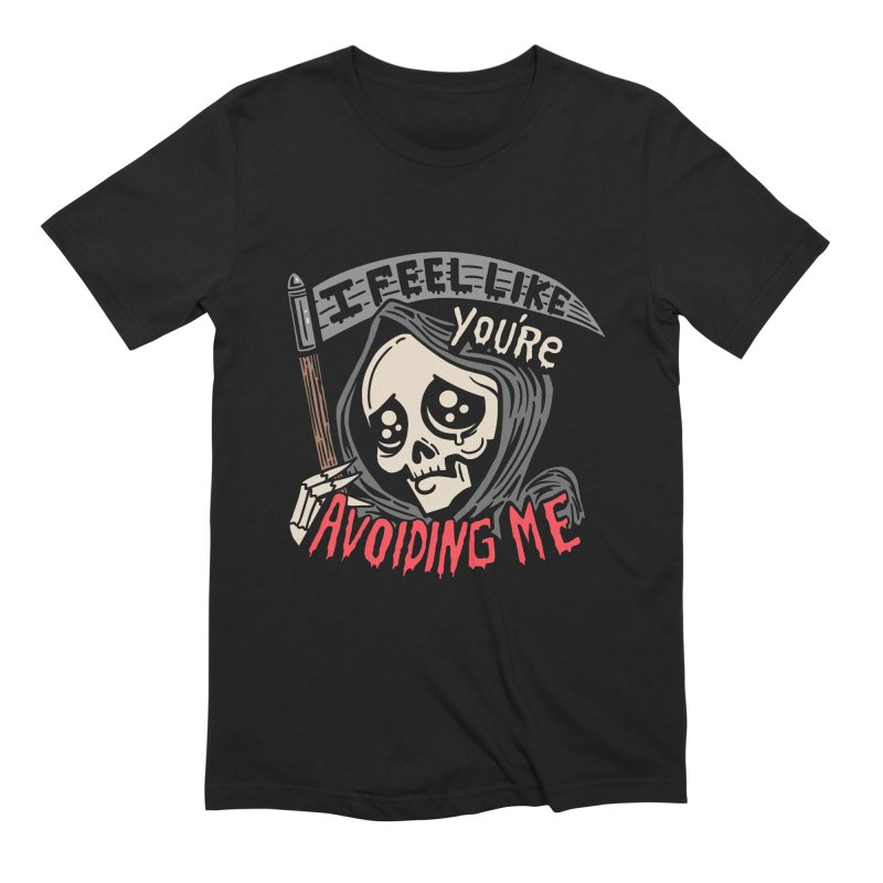 Grim Weeper Men's Extra Soft T-Shirt by Ibyes