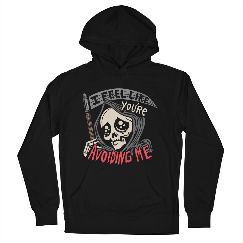 Grim Weeper Men's French Terry Pullover Hoody by Ibyes