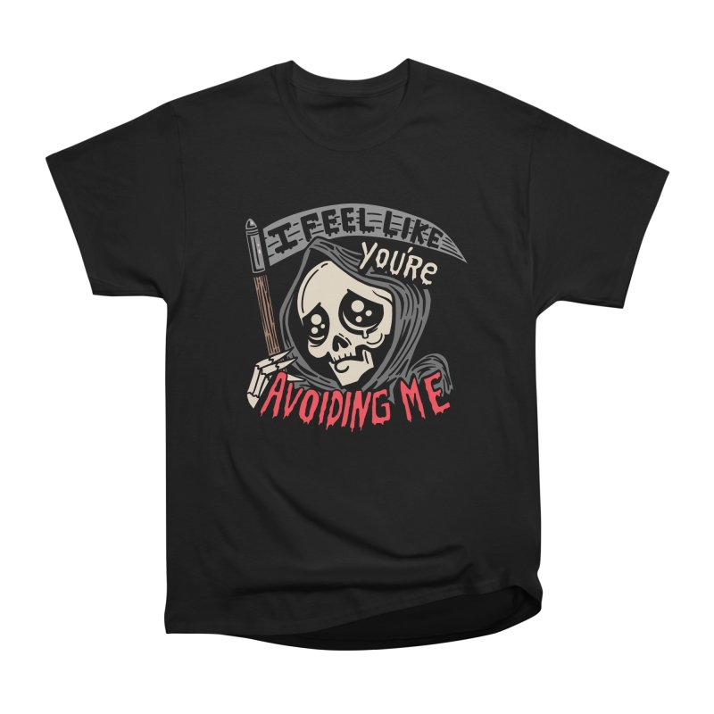 Grim Weeper Women's Heavyweight Unisex T-Shirt by Ibyes