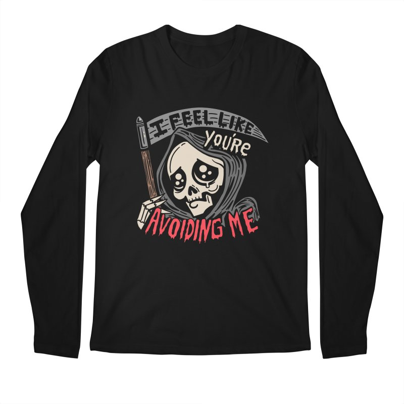 Grim Weeper Men's Regular Longsleeve T-Shirt by Ibyes