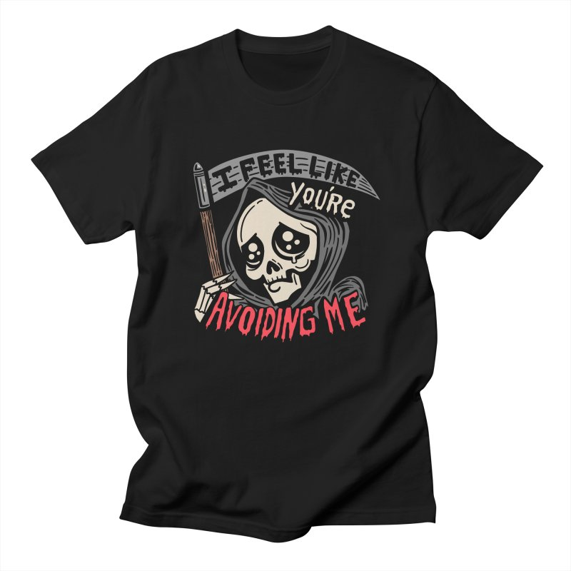 Grim Weeper Men's Regular T-Shirt by Ibyes
