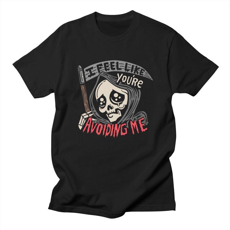 Grim Weeper Women's Regular Unisex T-Shirt by Ibyes