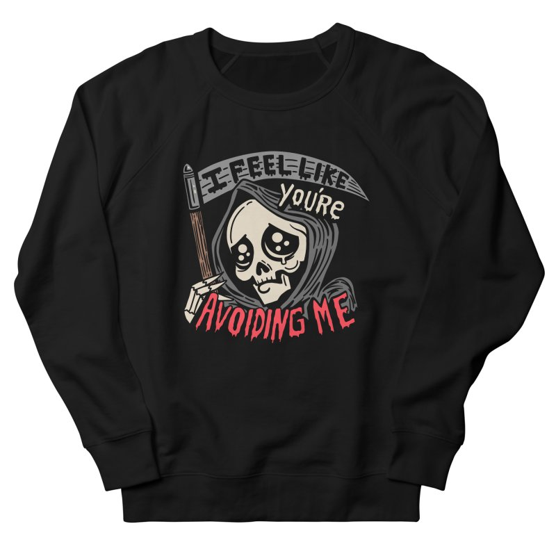 Grim Weeper Men's French Terry Sweatshirt by Ibyes