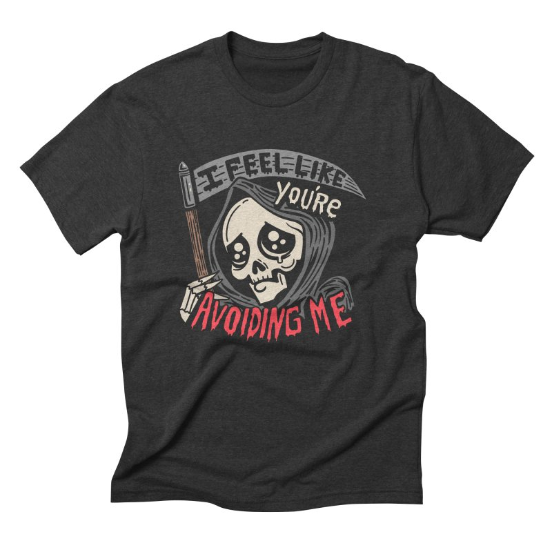 Grim Weeper Men's Triblend T-Shirt by Ibyes