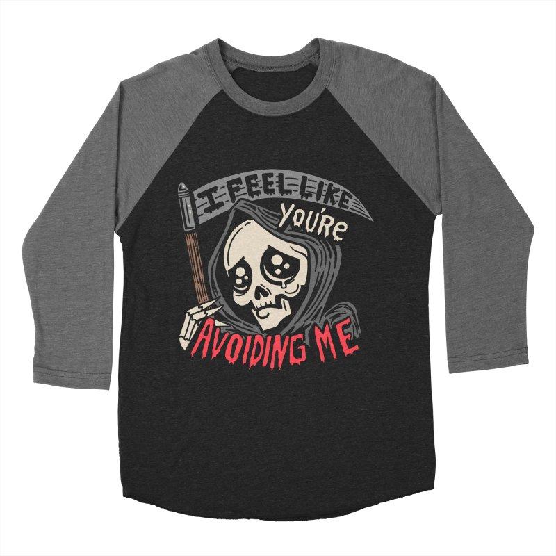 Grim Weeper Men's Baseball Triblend Longsleeve T-Shirt by Ibyes