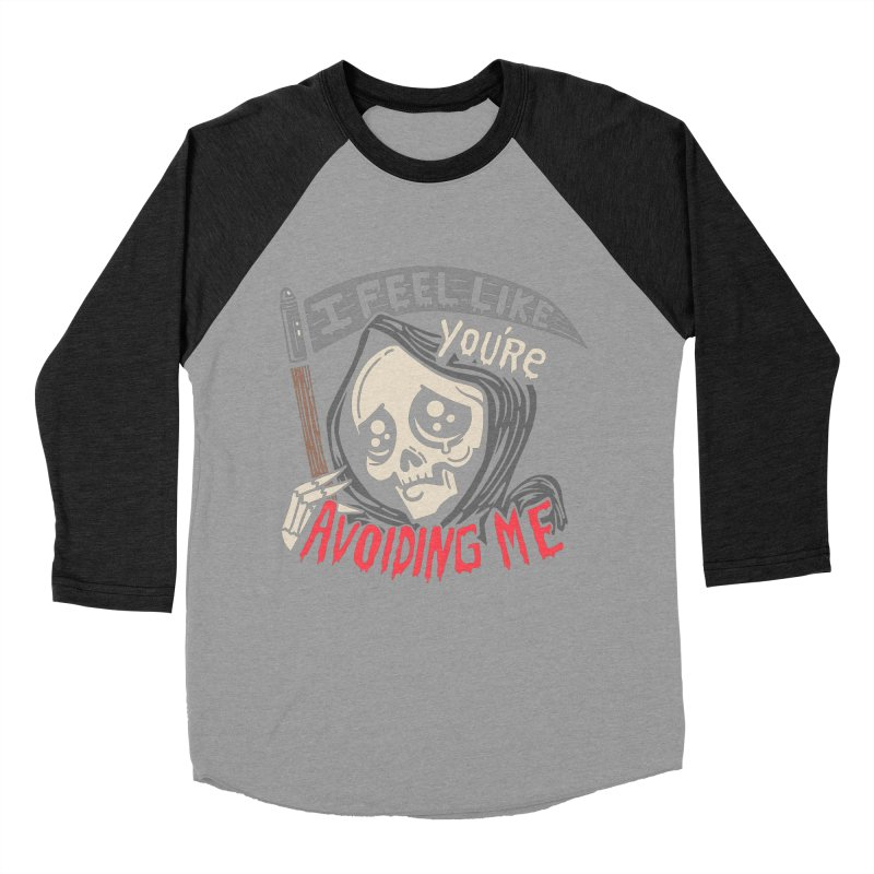 Grim Weeper Men's Baseball Triblend Longsleeve T-Shirt by Ibyes