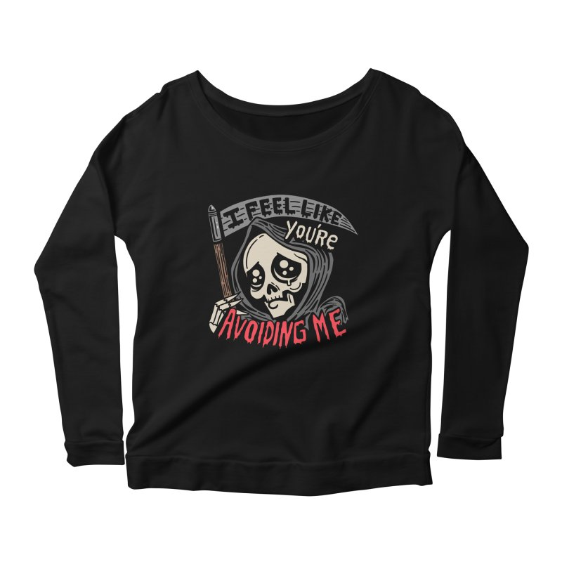 Grim Weeper Women's Scoop Neck Longsleeve T-Shirt by Ibyes