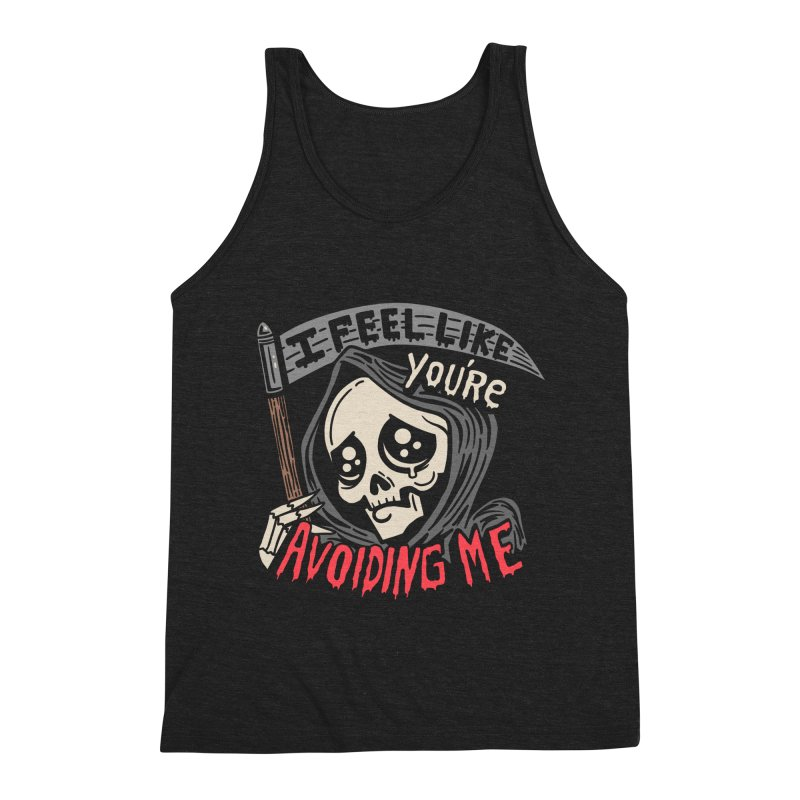Grim Weeper Men's Triblend Tank by Ibyes