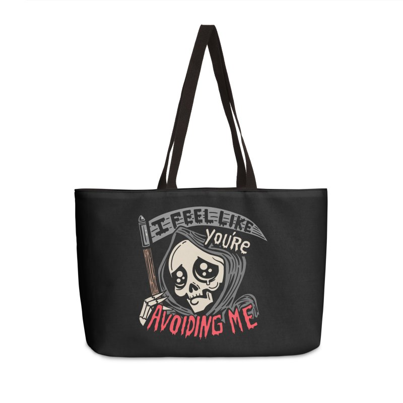 Grim Weeper Accessories Weekender Bag Bag by Ibyes