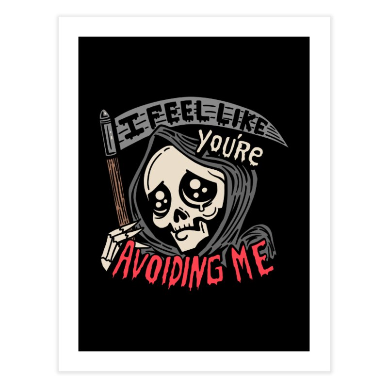 Grim Weeper Home Fine Art Print by Ibyes