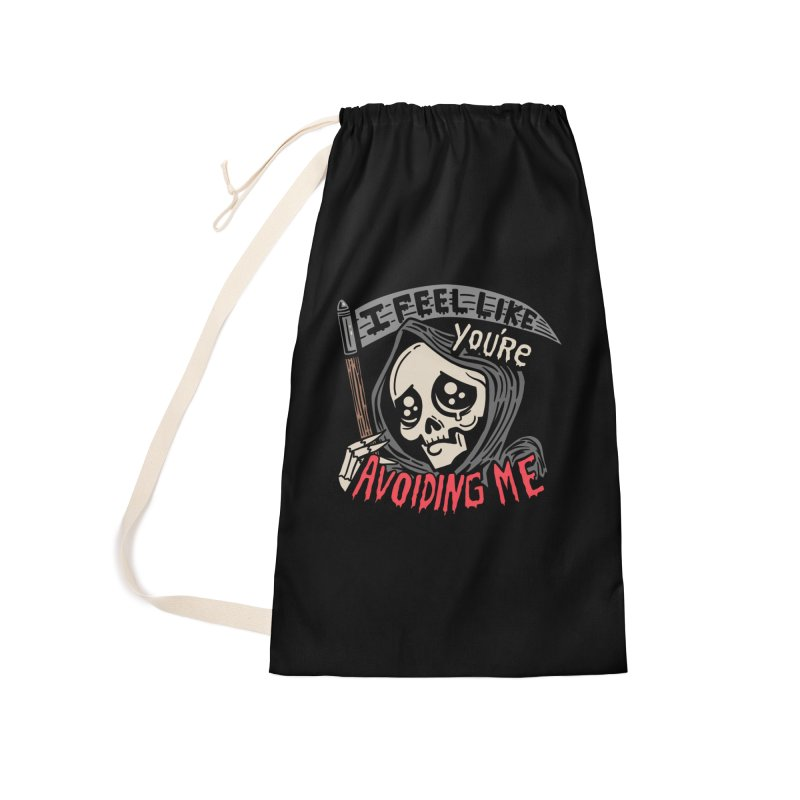 Grim Weeper Accessories Laundry Bag Bag by Ibyes