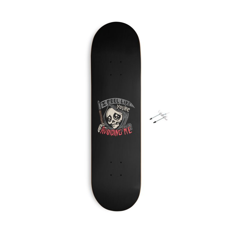 Grim Weeper Accessories With Hanging Hardware Skateboard by Ibyes
