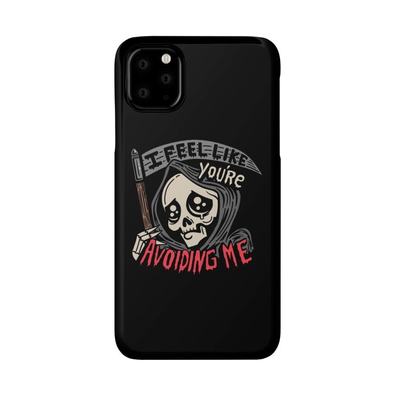 Grim Weeper Accessories Phone Case by Ibyes
