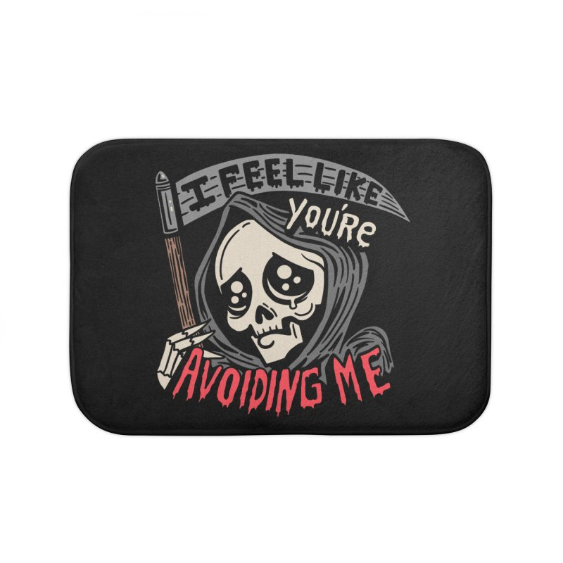 Grim Weeper Home Bath Mat by Ibyes