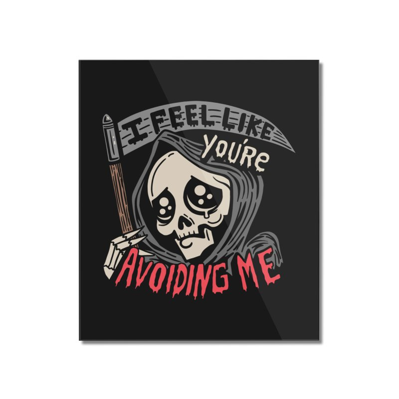 Grim Weeper Home Mounted Acrylic Print by Ibyes