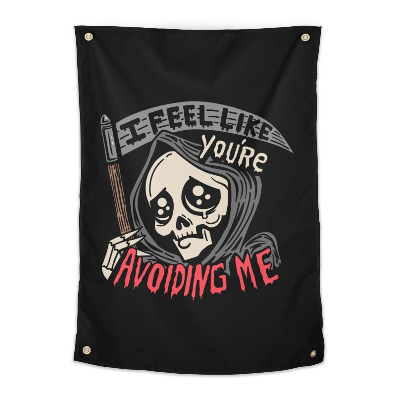 Grim Weeper Home Tapestry by Ibyes