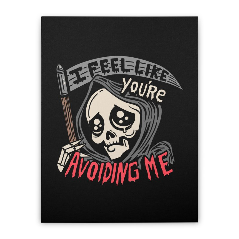 Grim Weeper Home Stretched Canvas by Ibyes