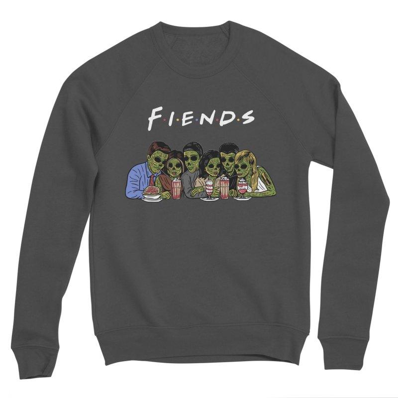 Fiends Women's Sponge Fleece Sweatshirt by Ibyes