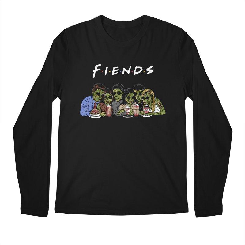 Fiends Men's Regular Longsleeve T-Shirt by Ibyes