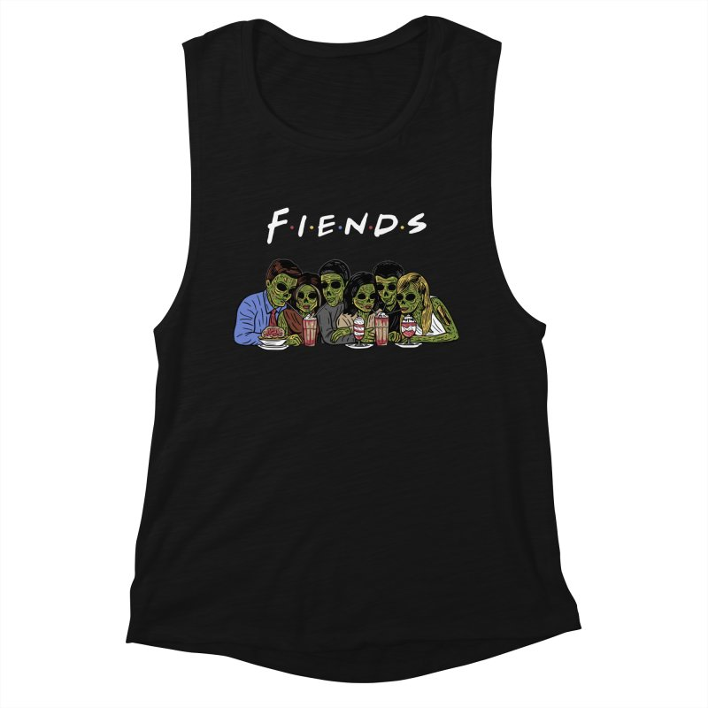 Fiends Women's Muscle Tank by Ibyes
