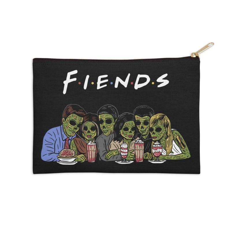 Fiends Accessories Zip Pouch by Ibyes
