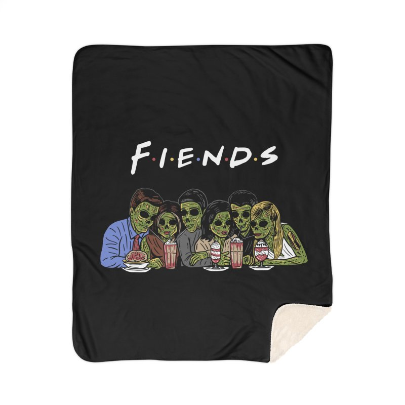 Fiends Home Sherpa Blanket Blanket by Ibyes