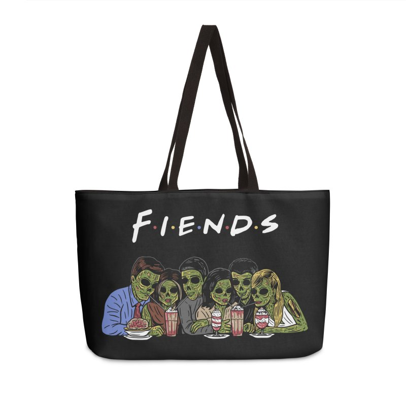 Fiends Accessories Weekender Bag Bag by Ibyes