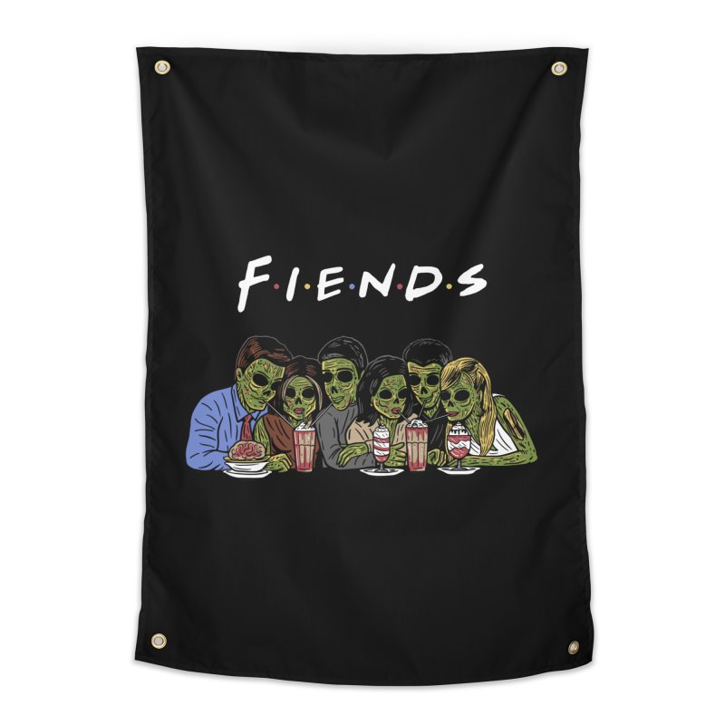 Fiends Home Tapestry by Ibyes