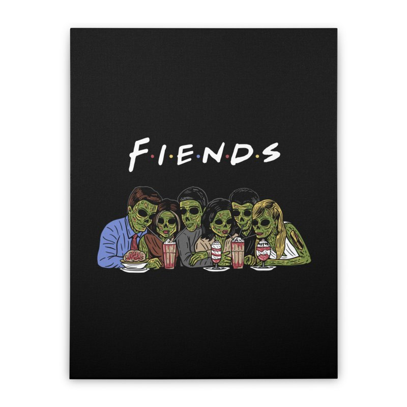 Fiends Home Stretched Canvas by Ibyes
