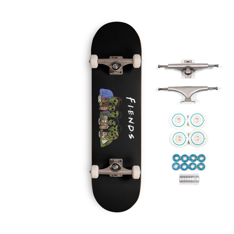 Fiends Accessories Complete - Basic Skateboard by Ibyes