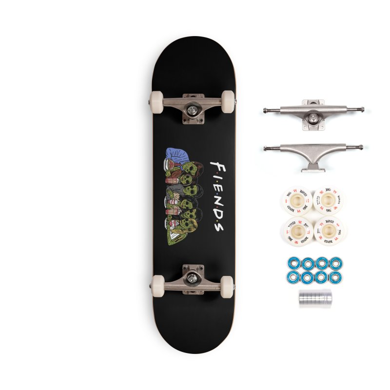Fiends Accessories Complete - Premium Skateboard by Ibyes