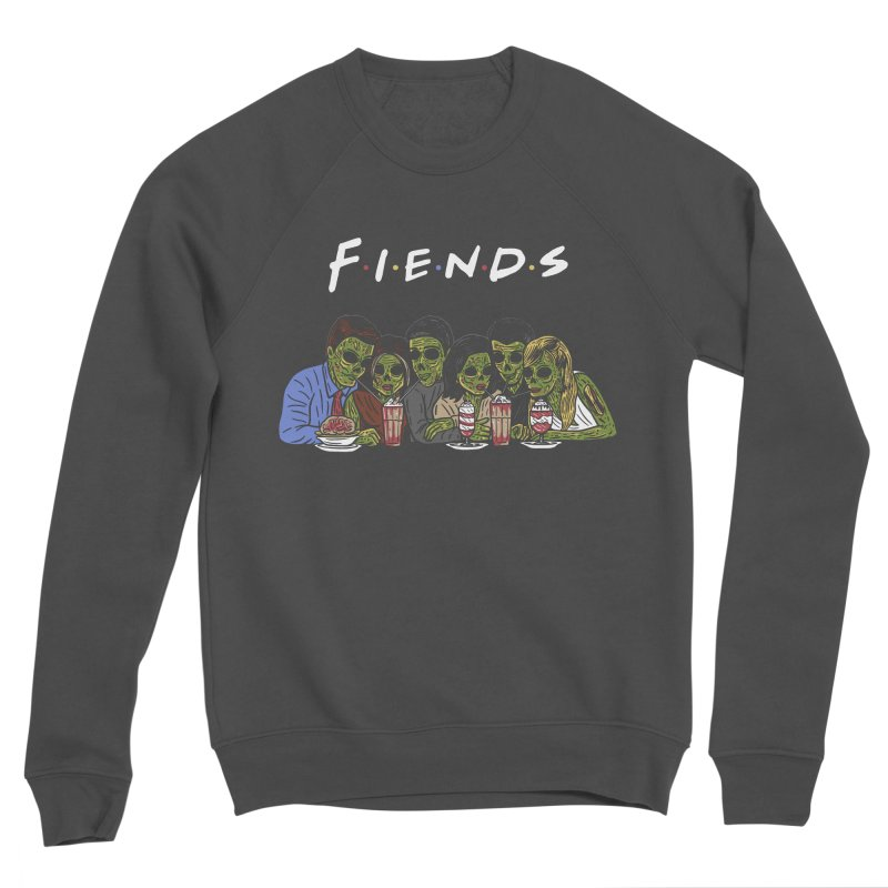 Fiends Women's Sponge Fleece Sweatshirt by Ibyes