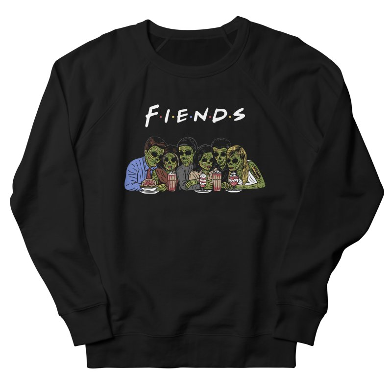 Fiends Men's French Terry Sweatshirt by Ibyes