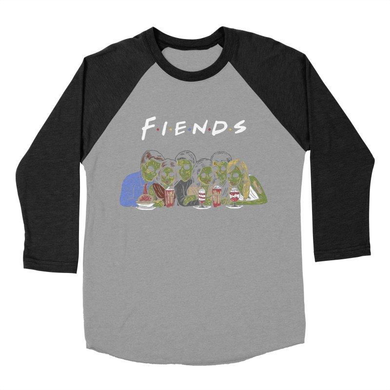 Fiends Women's Baseball Triblend Longsleeve T-Shirt by Ibyes