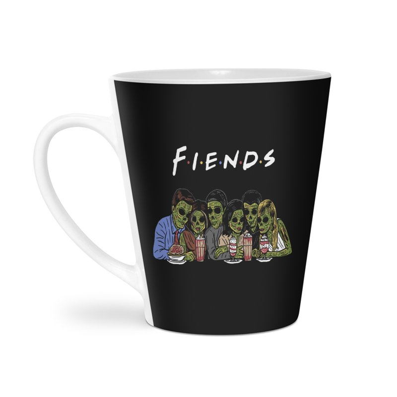 Fiends Accessories Latte Mug by Ibyes