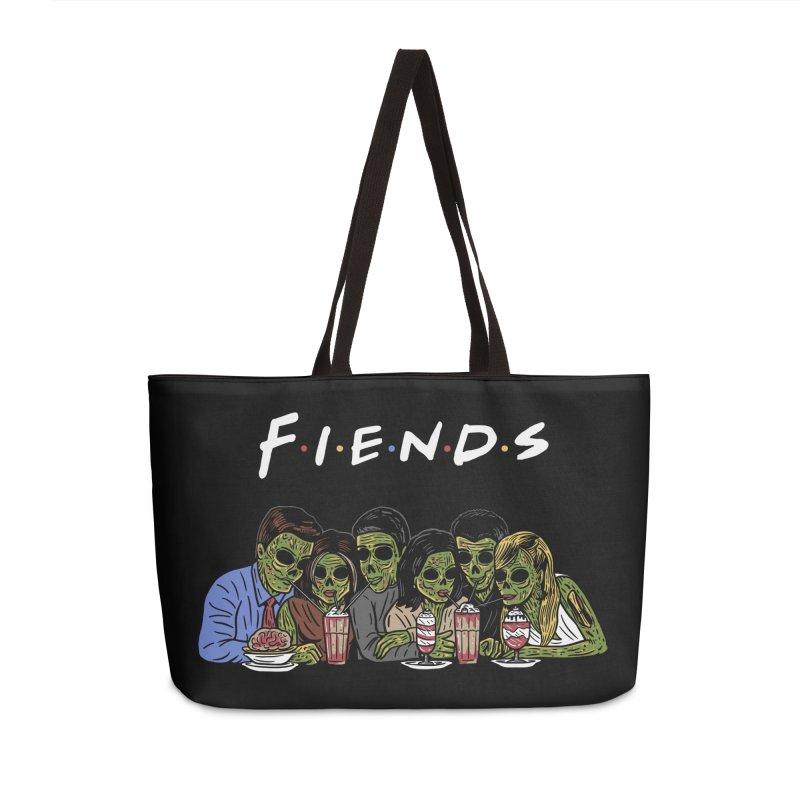 Fiends Accessories Weekender Bag Bag by Ibyes