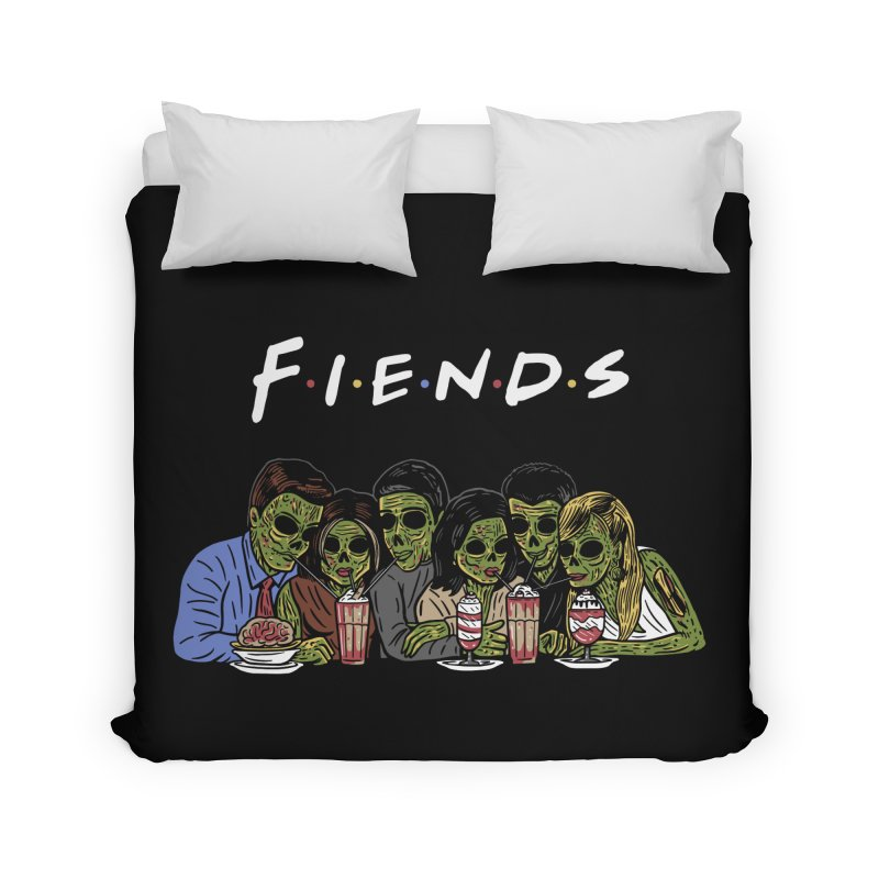 Fiends Home Duvet by Ibyes
