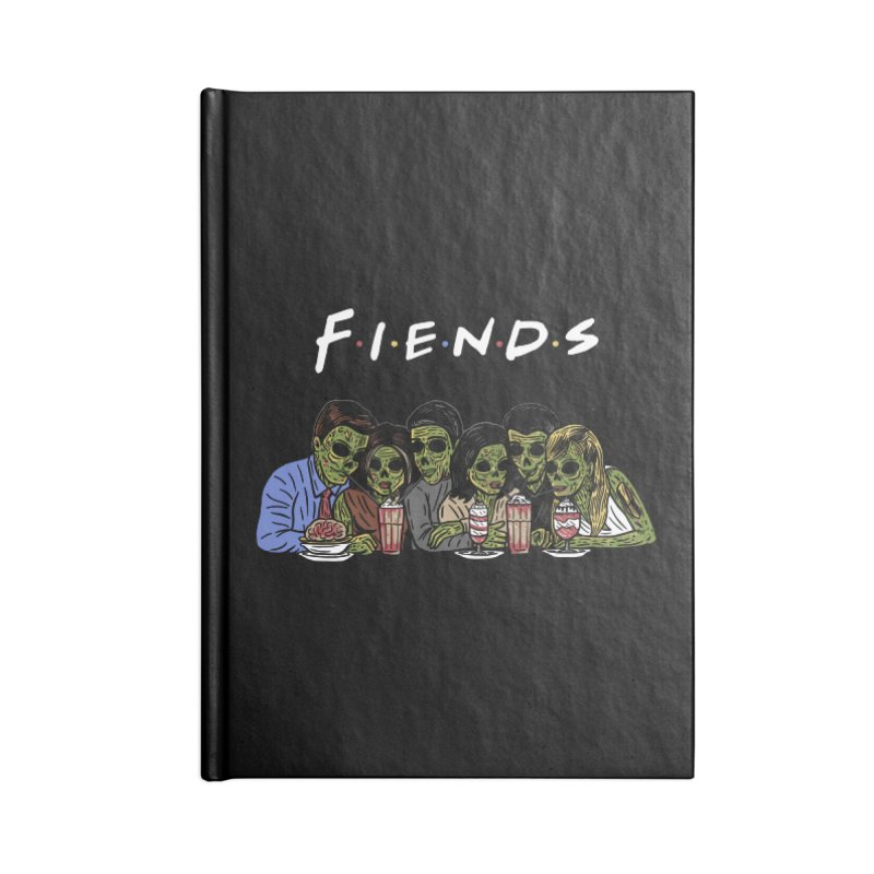 Fiends Accessories Blank Journal Notebook by Ibyes