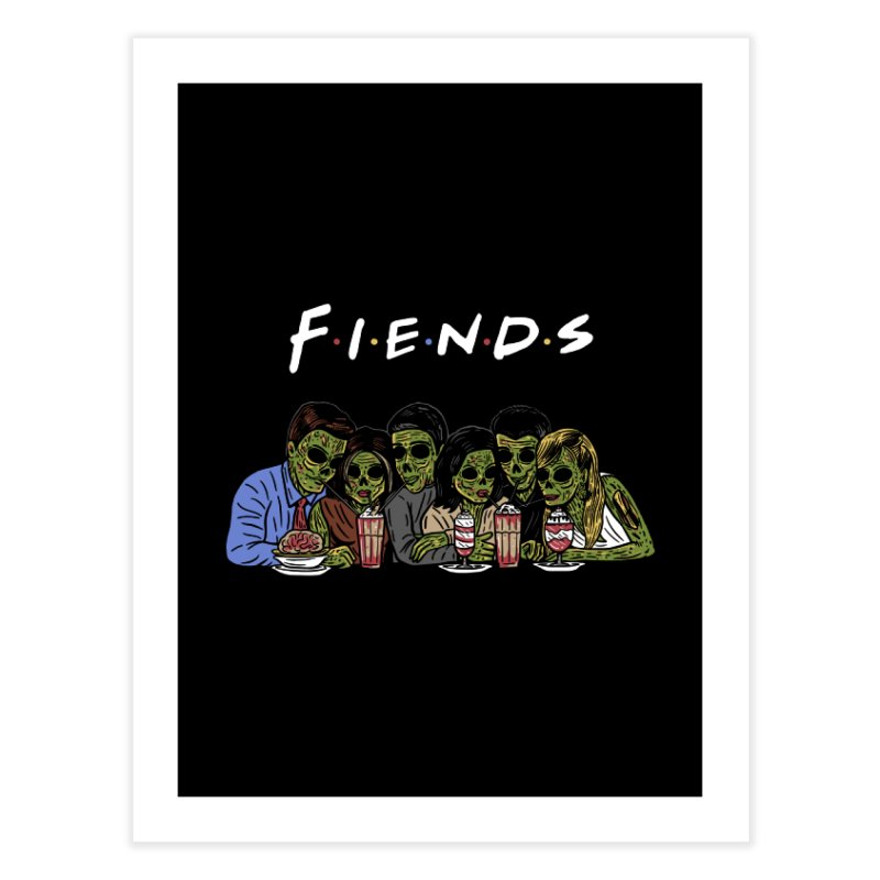 Fiends Home Fine Art Print by Ibyes