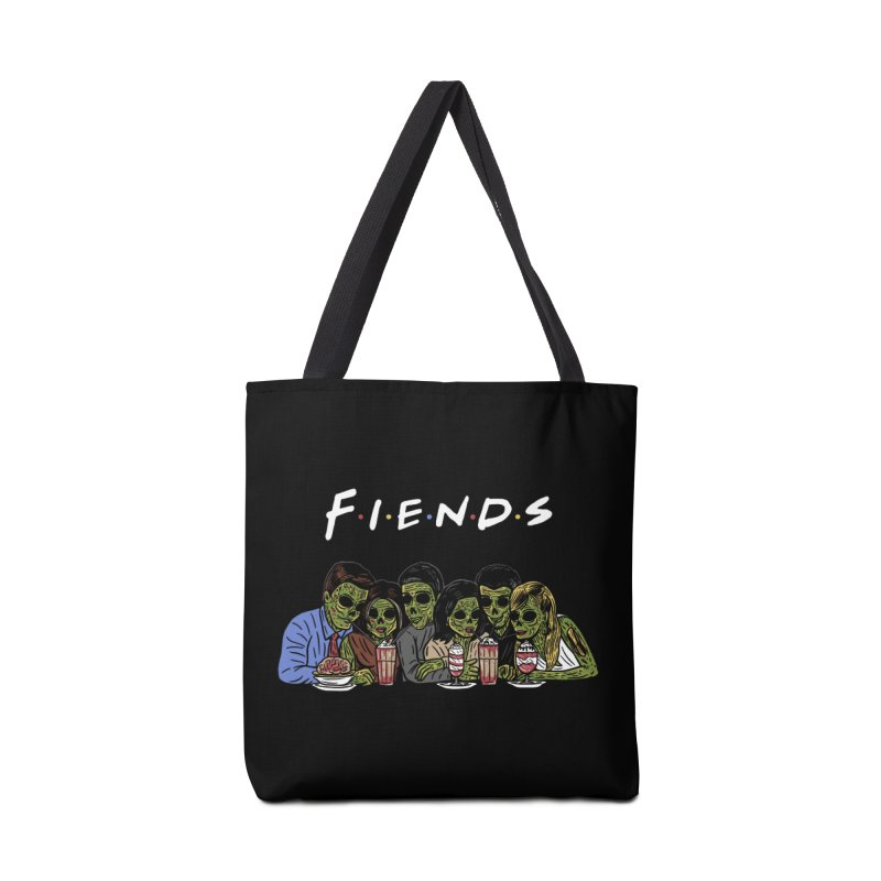 Fiends Accessories Tote Bag Bag by Ibyes