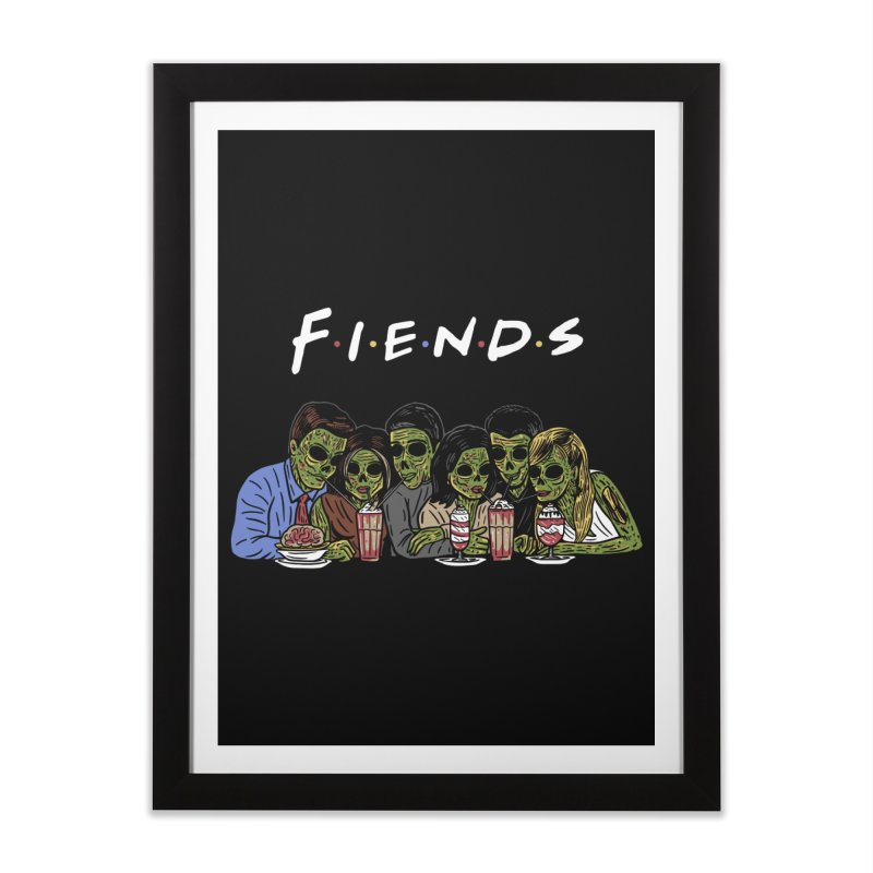 Fiends Home Framed Fine Art Print by Ibyes