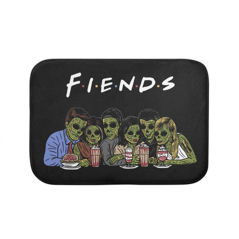 Fiends Home Bath Mat by Ibyes
